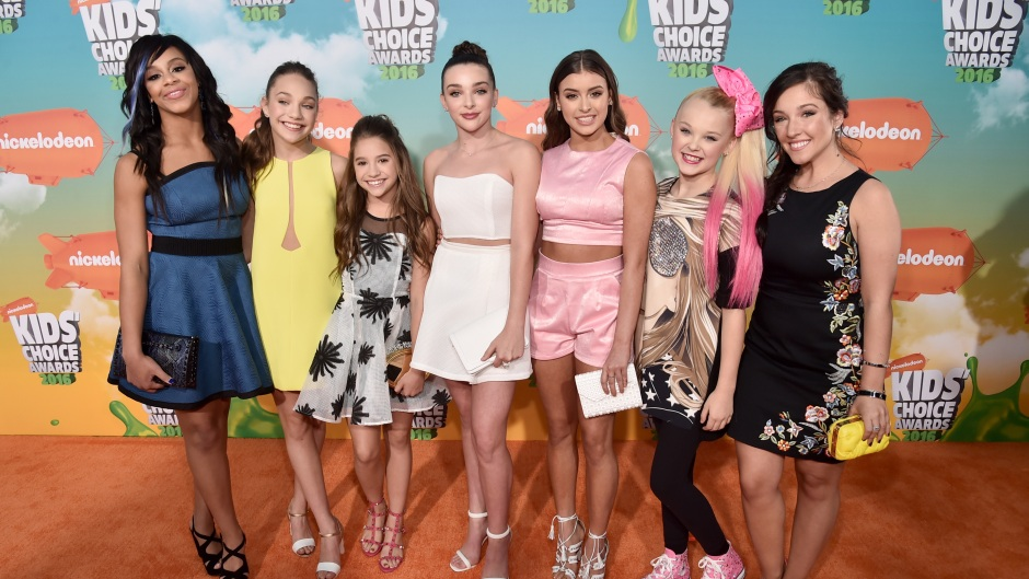 IS DANCE MOMS SCRIPTED YOUNG CAST PHOTO