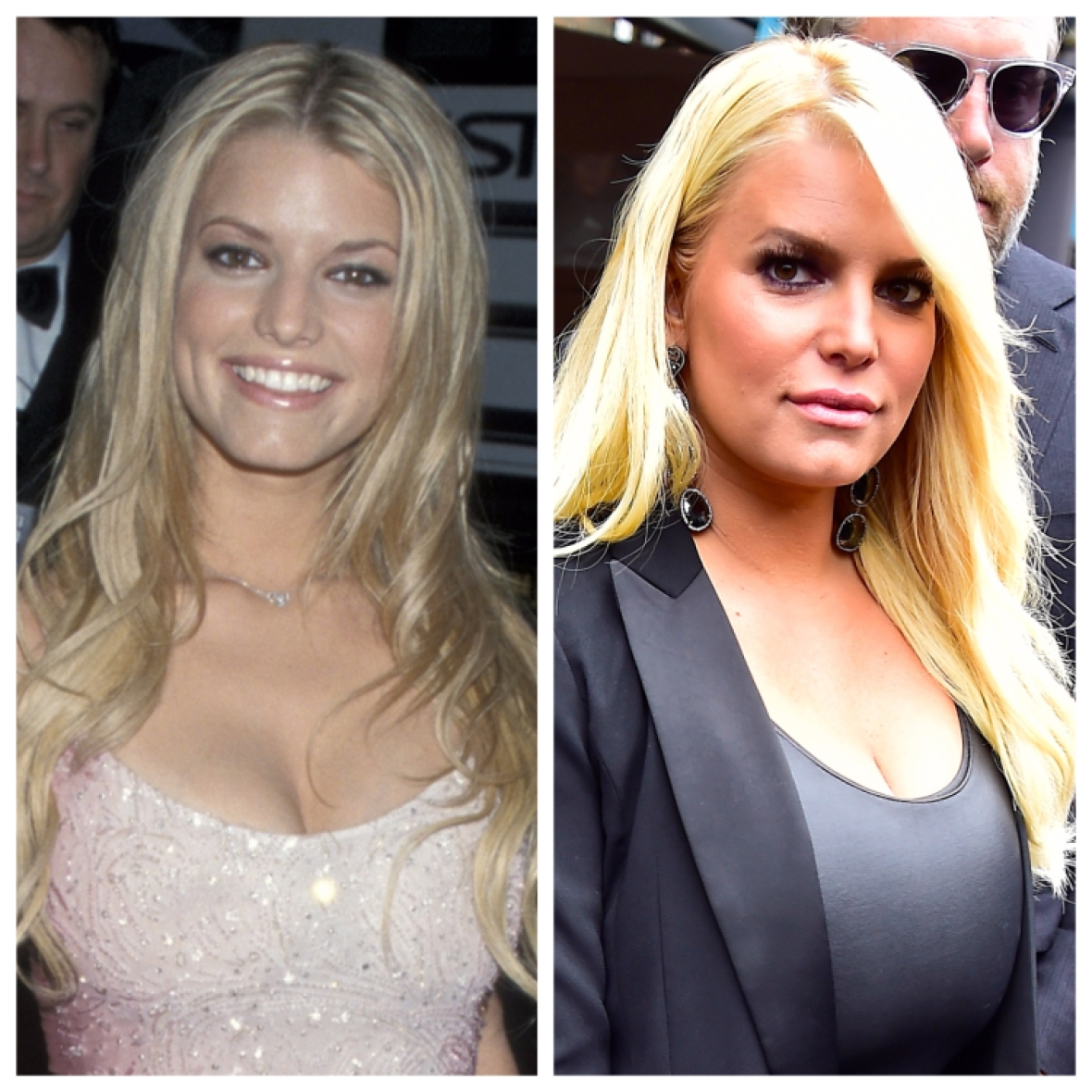 jessica simpson before and after getty images