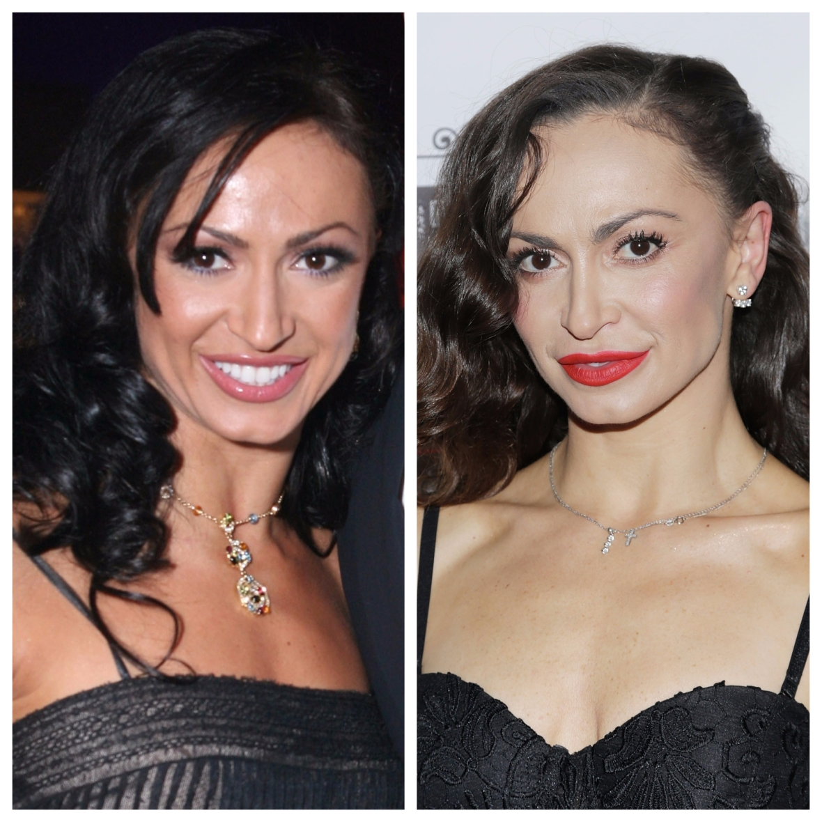 karina smirnoff then & now getty images