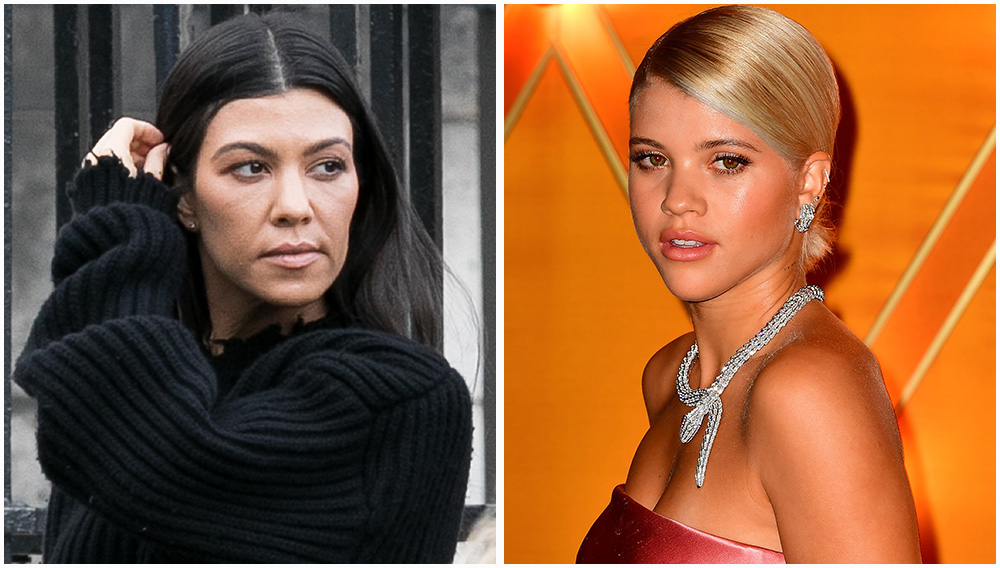 Kourtney Kardashian Is Reportedly 'Dead Set' Against Sofia Richie Being On 'KUWTK'