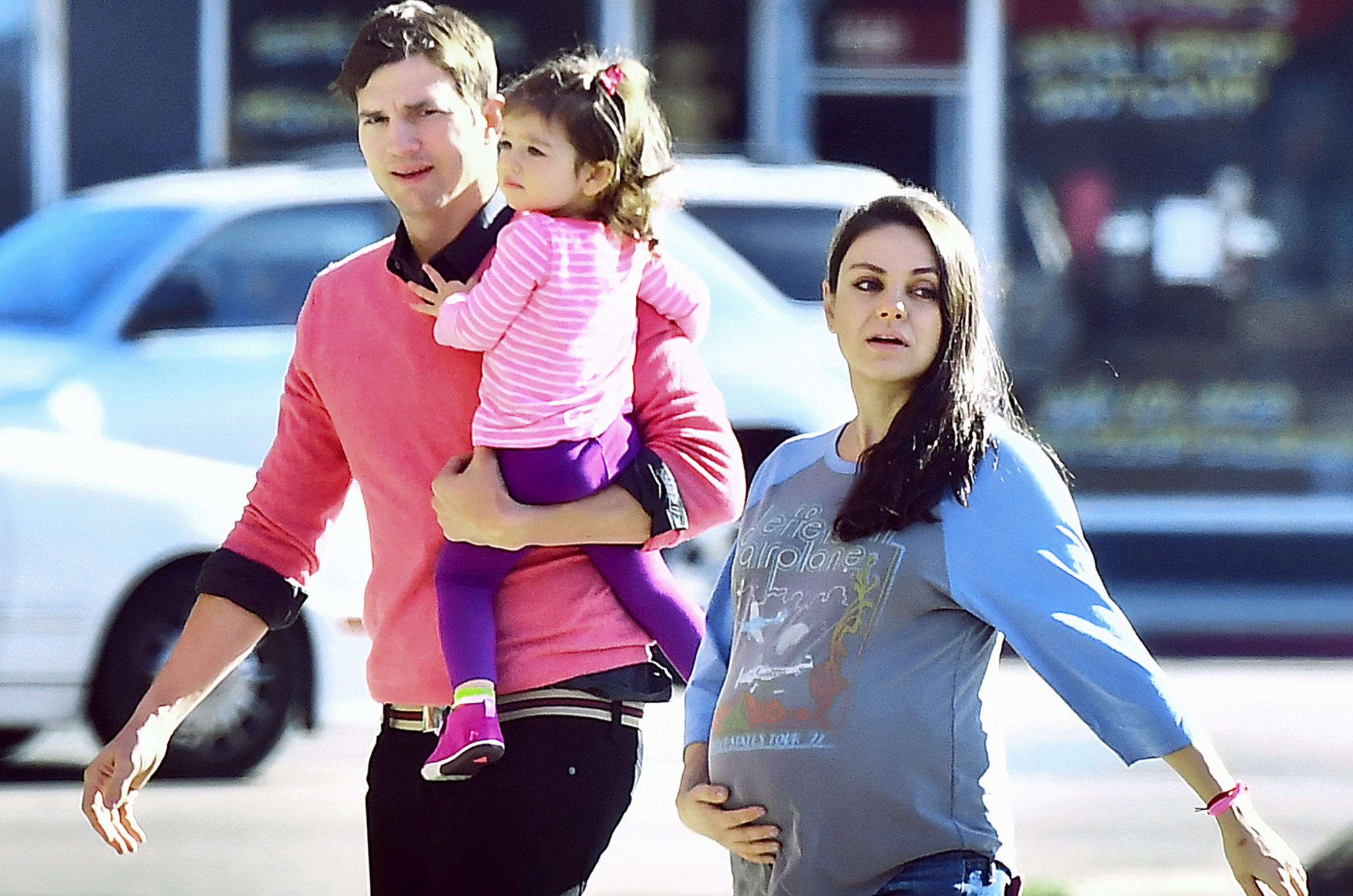 Mila Kunis Gives Her Daughter Wine Every Friday for