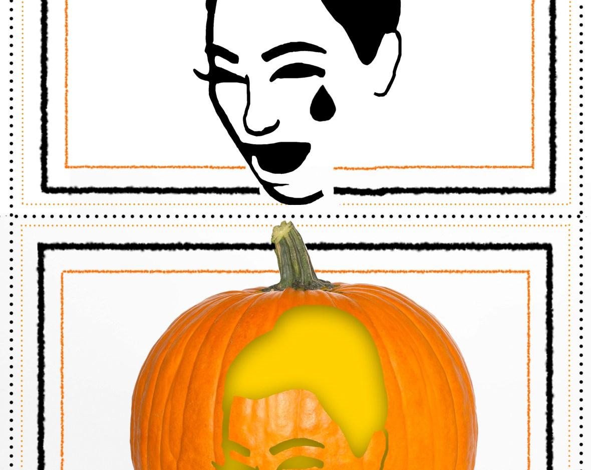 Pumpkin Stencils Free Easy Halloween Pop Culture Stencils