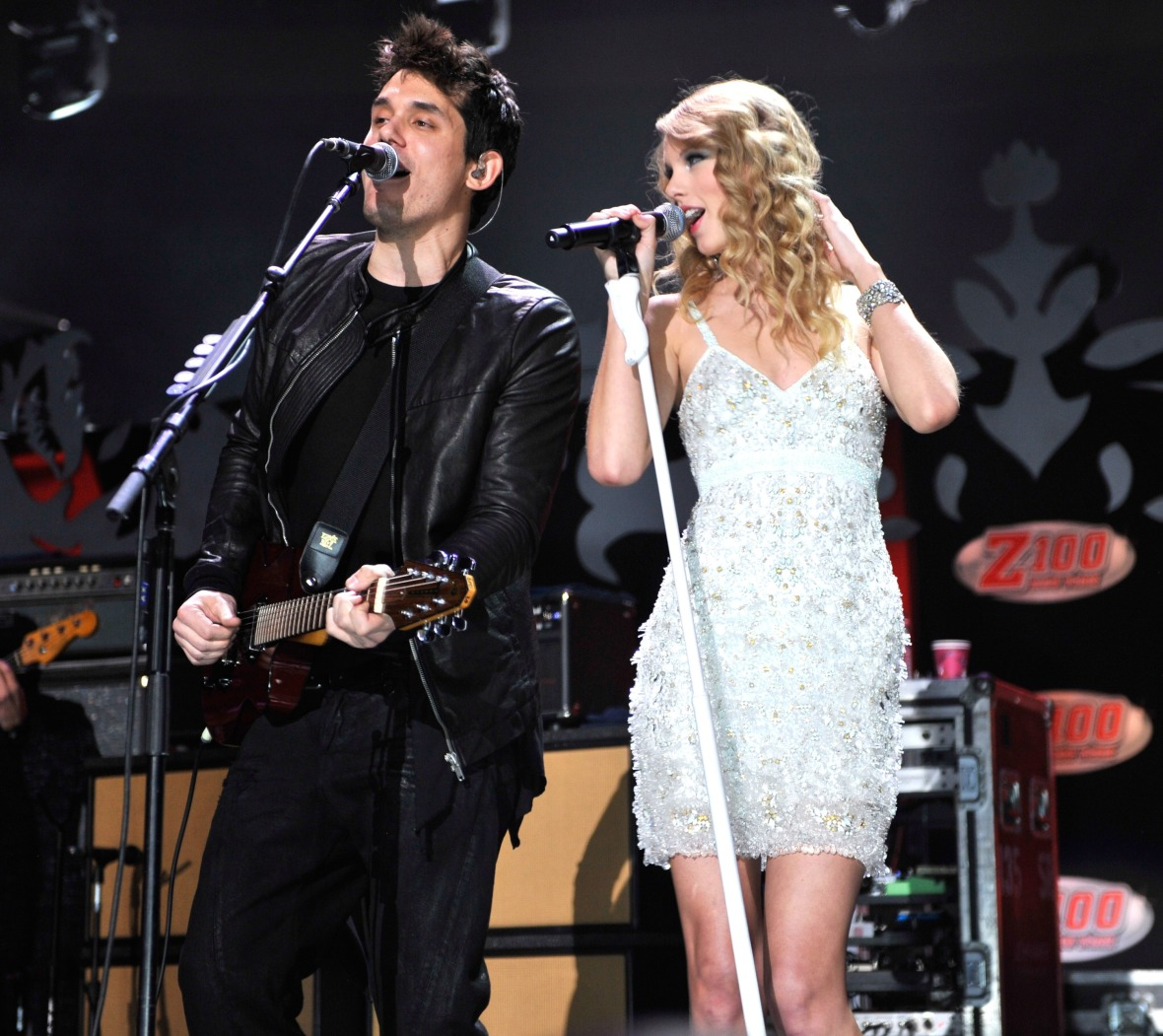 taylor swift, john mayer, getty images
