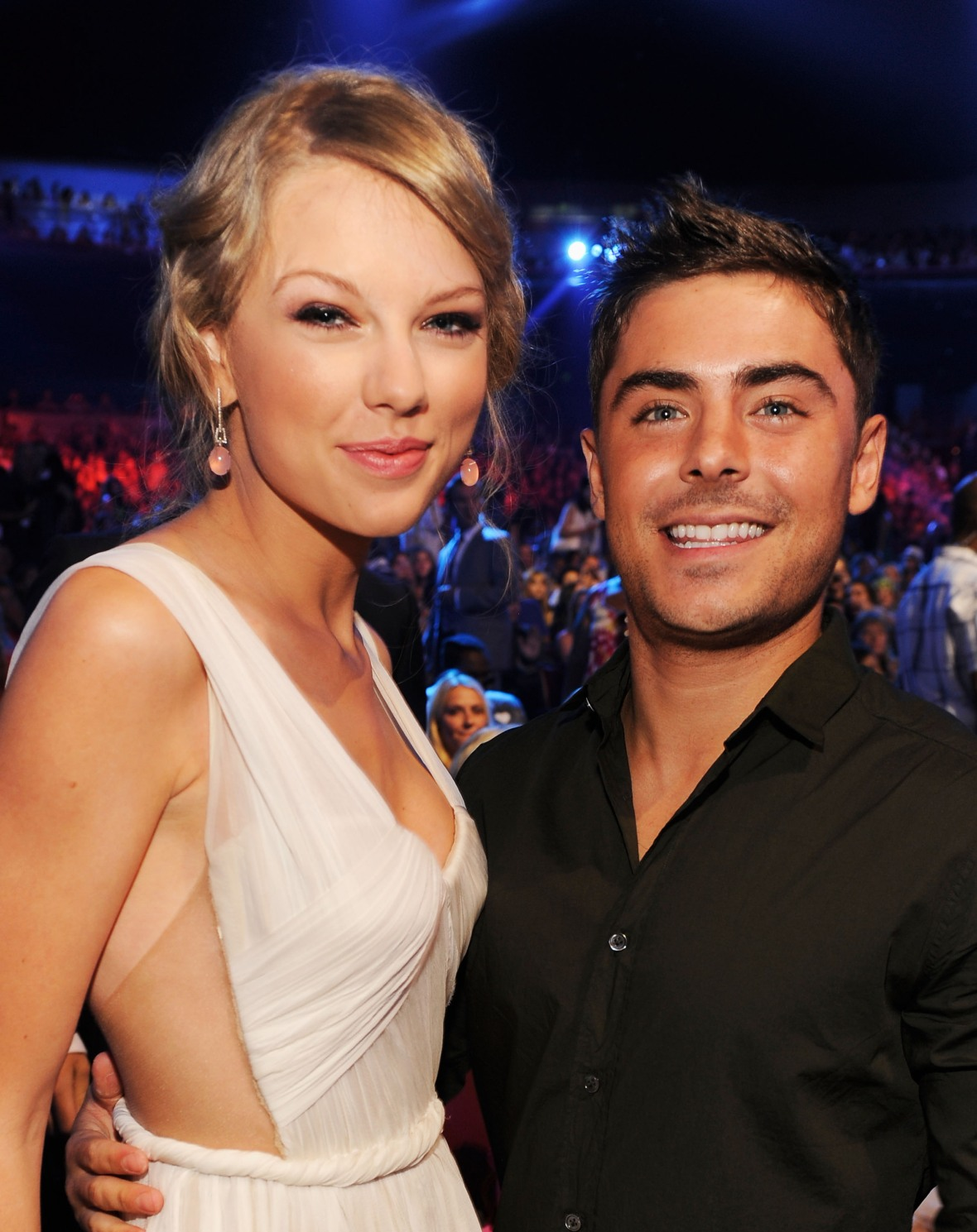 taylor swift, zac efron, getty images