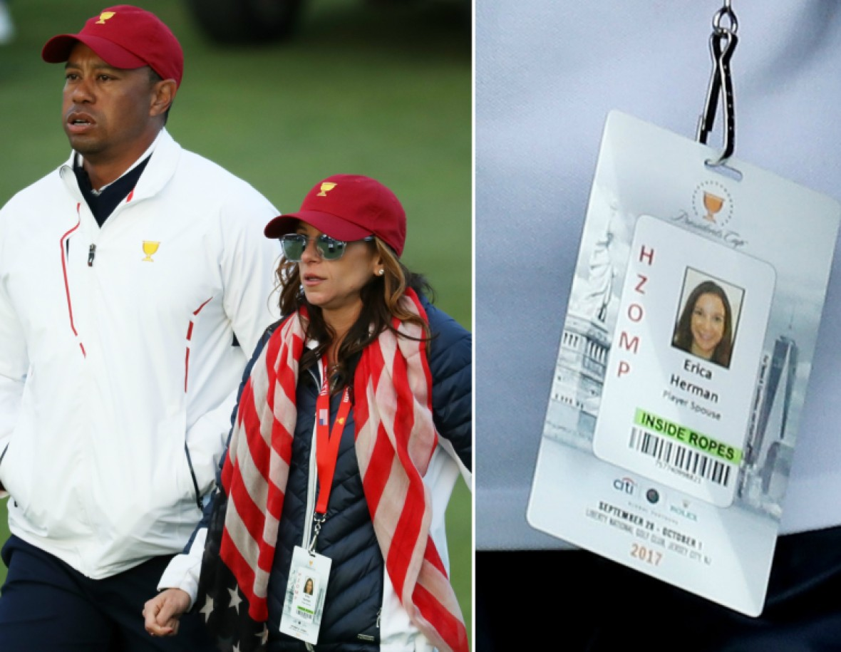 tiger woods girlfriend getty