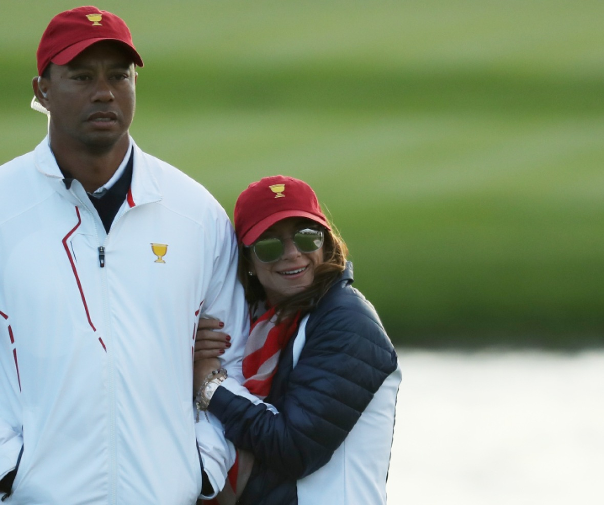 tiger woods girlfriend splash