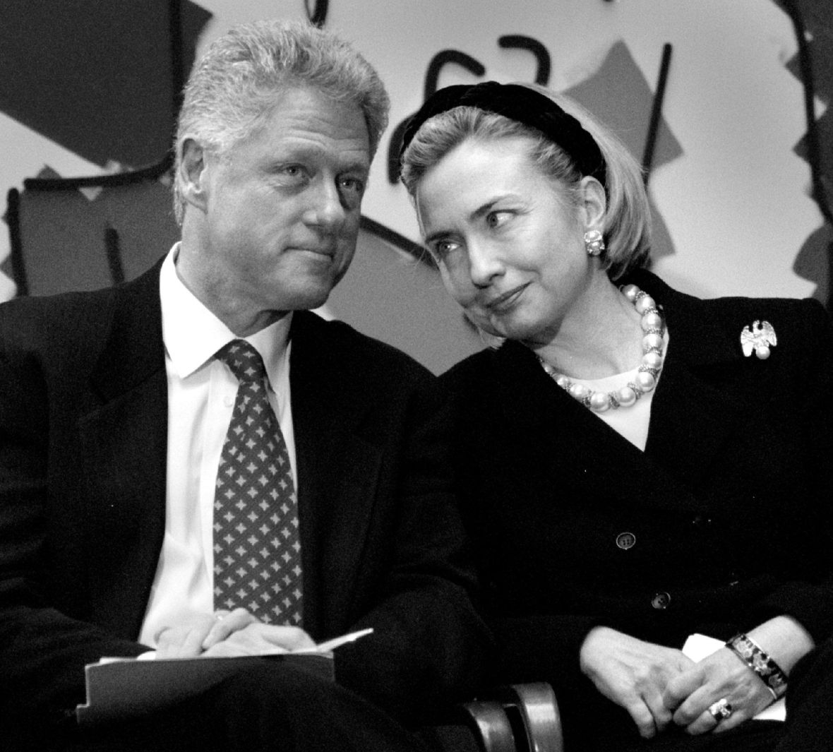 bill hillary clinton - getty
