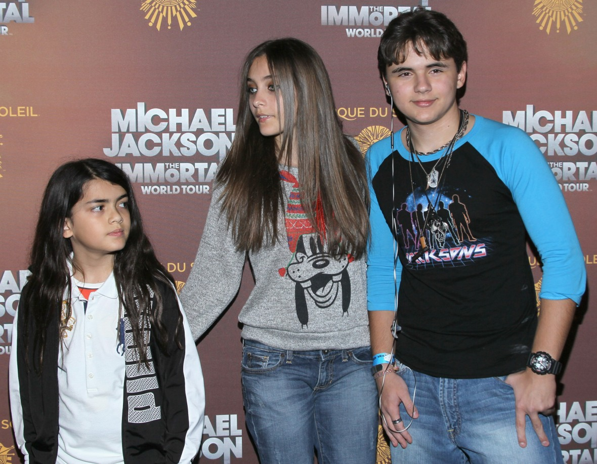 blanket, paris, and prince jackson getty images