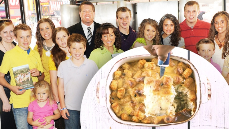The Duggars' Tater Tot Casserole Is Famous, So We Gave It a Try