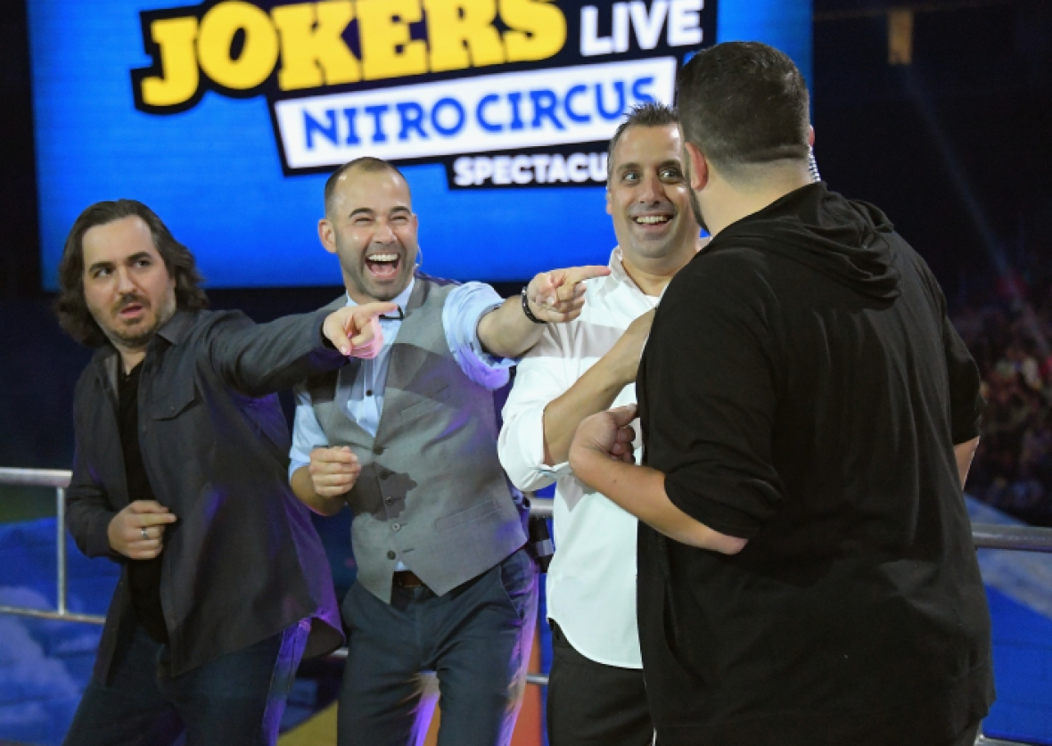impractical jokers getty images