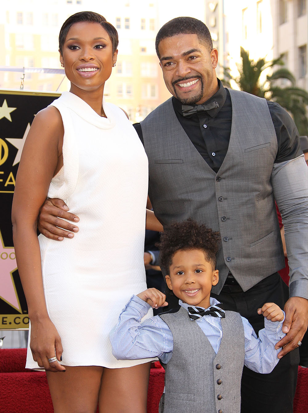 jennifer hudson david otunga getty