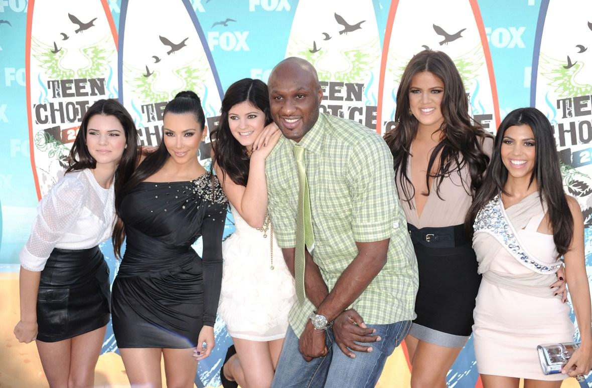 kardashians lamar odom