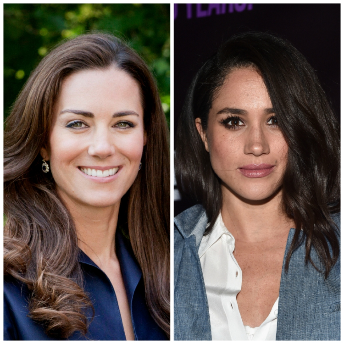kate middleton and meghan markle getty images