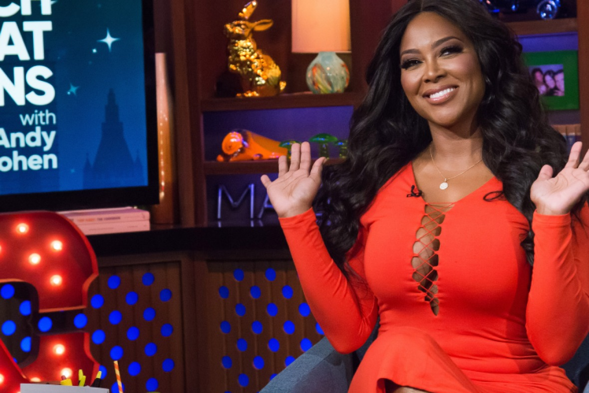 kenya moore net worth getty