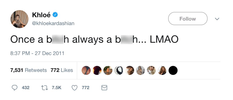 khloé kardashian twitter fight
