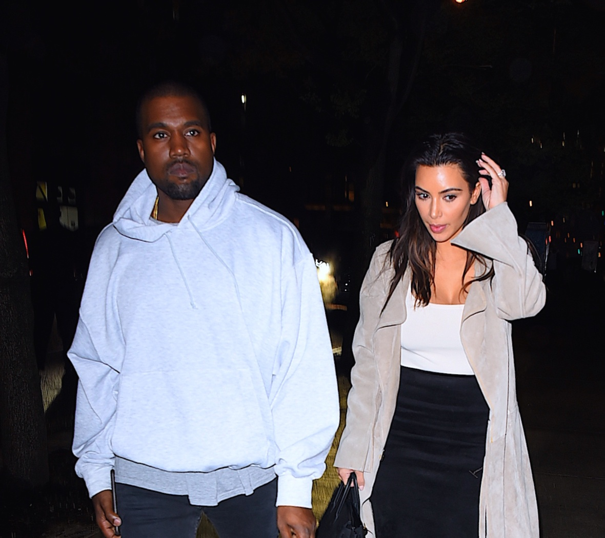 kim and kanye - getty images