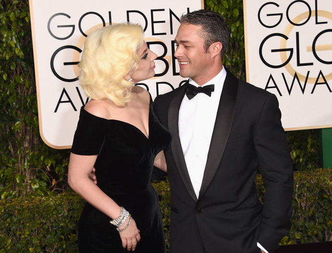 lady gaga and taylor kinney (photo credit: getty images)