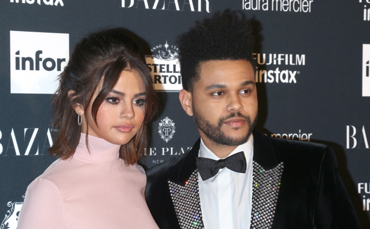 selena gomez the weeknd nyfw 2