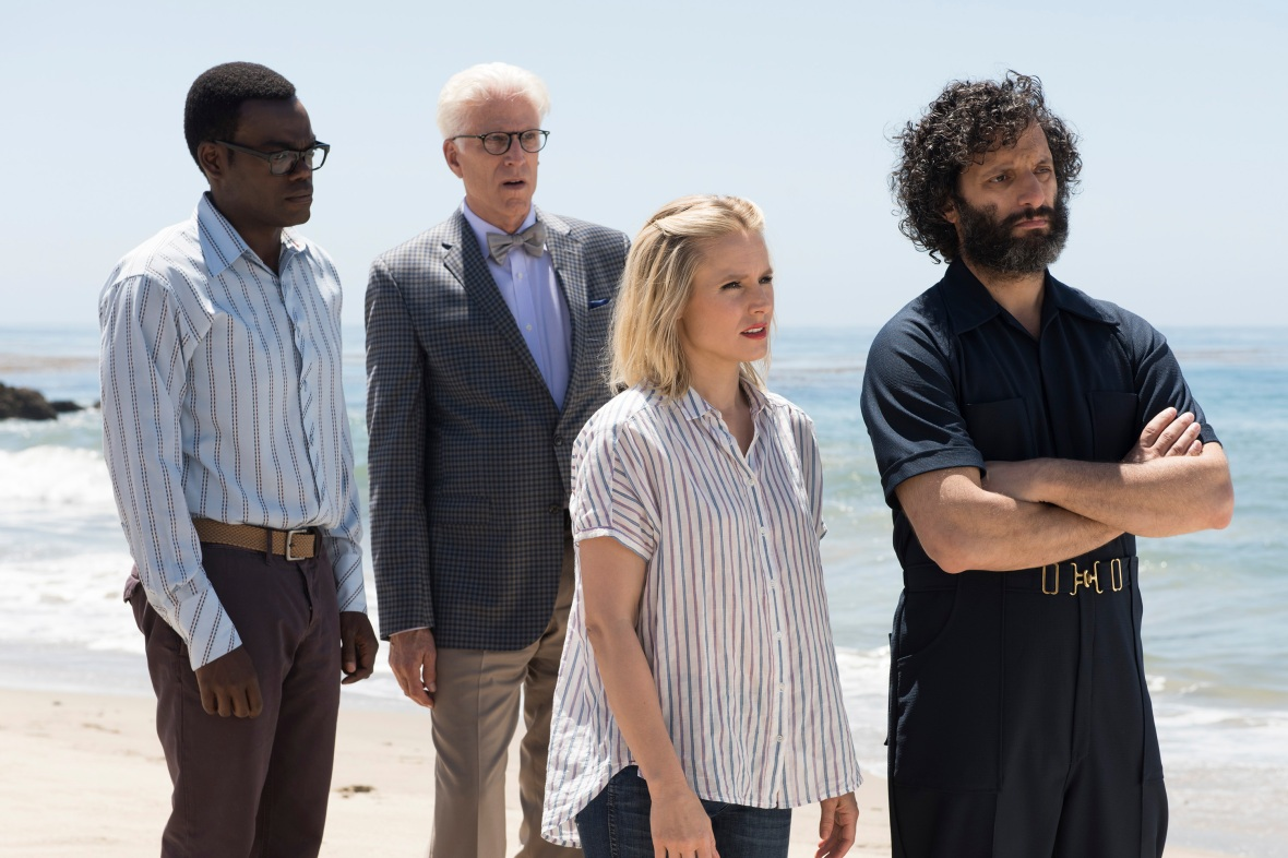 the good place getty