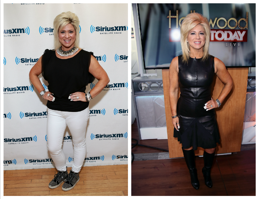 theresa caputo weight loss before and after getty