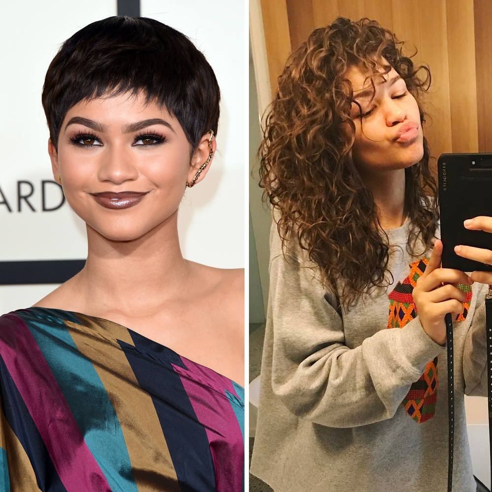 Celebrities Real Hair Look Under The Wigs Of Your Fave Stars