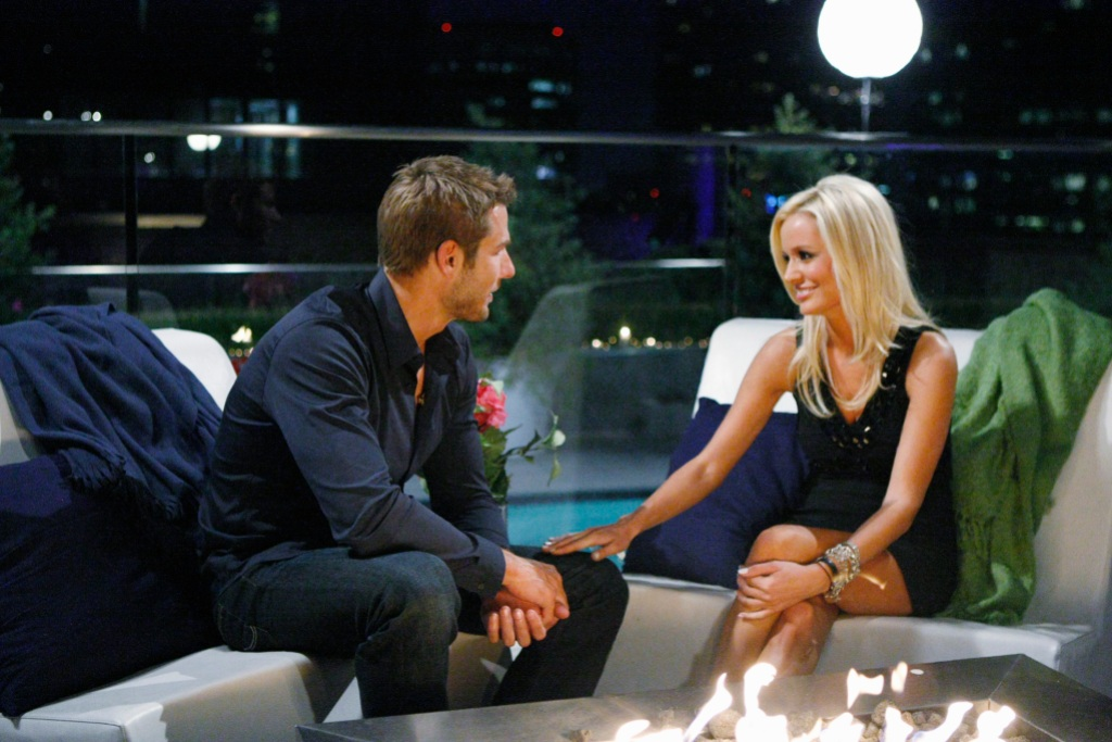 Bachelor Brad Womack with Emily Maynard