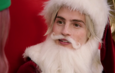 Gregg Sulkin is a Babe in A Cinderella Story Christmas Wish
