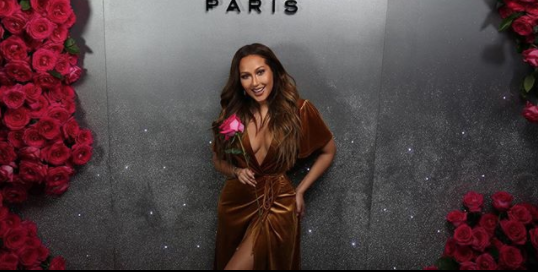 0d02feb78220 Adrienne Bailon Wore a $17 Forever 21 Dress to a 'Vogue' Event — and She's  Our Hero!