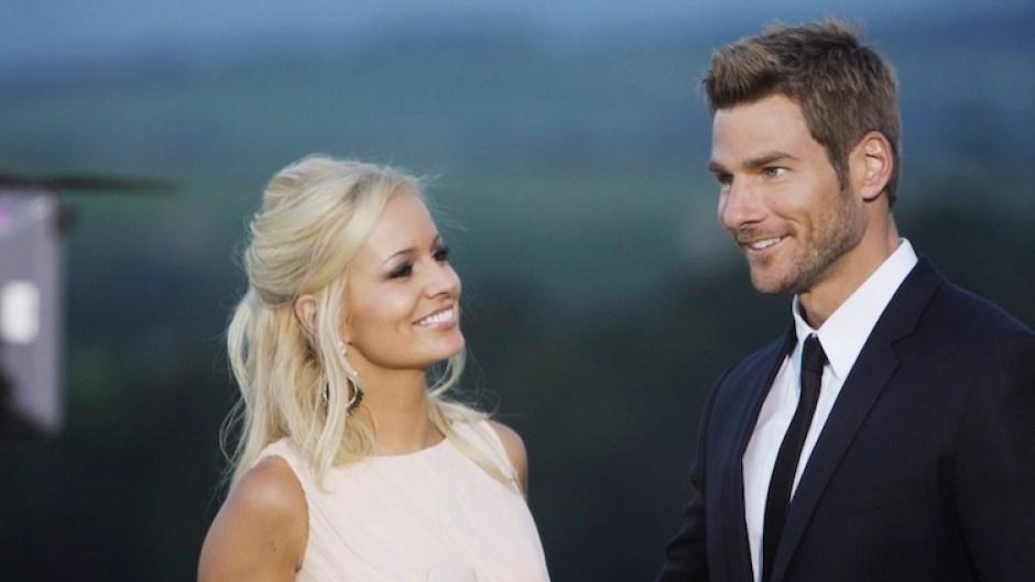 Bachelor Brad Womack With Fiance Emily Maynard