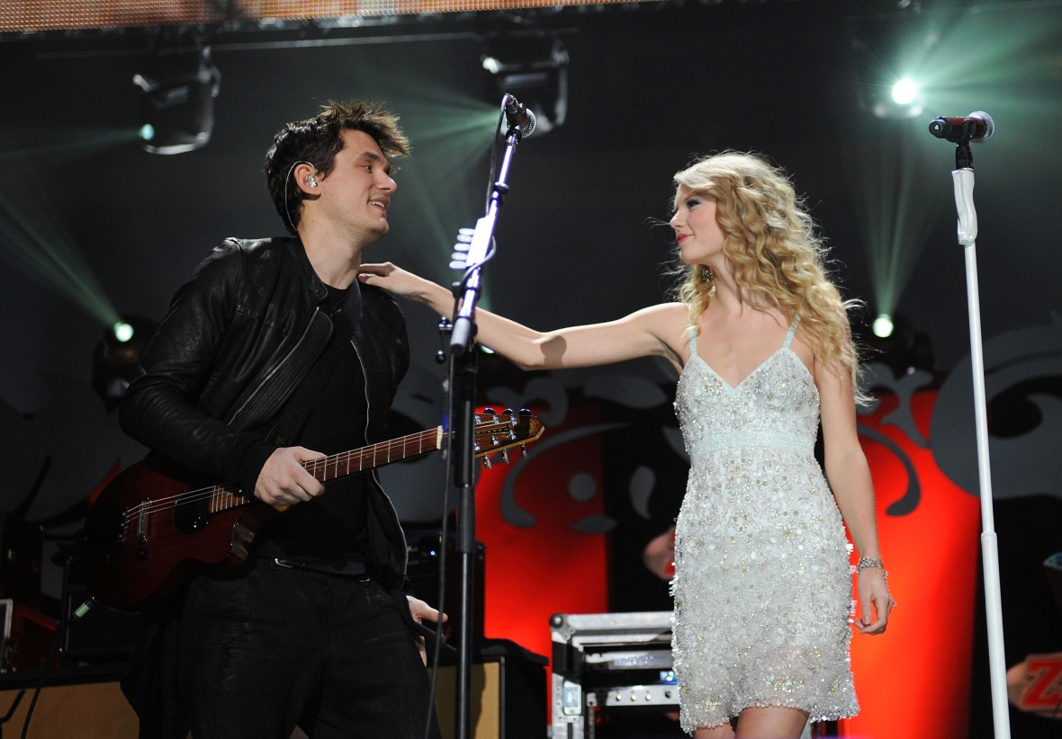 john mayer taylor swift - getty