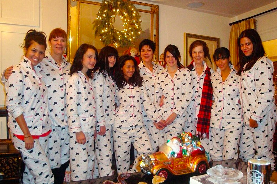 Kardashian Pajamas: Get Your Own Kardashian Christmas Pajamas