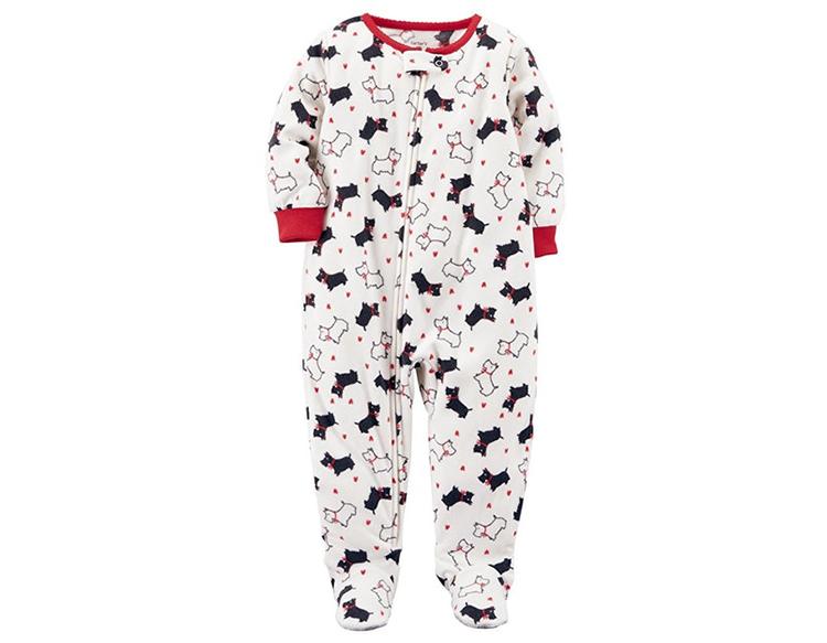 kardashian christmas pajamas amazon scottie dog baby onesie