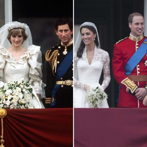 kate middleton diana getty images