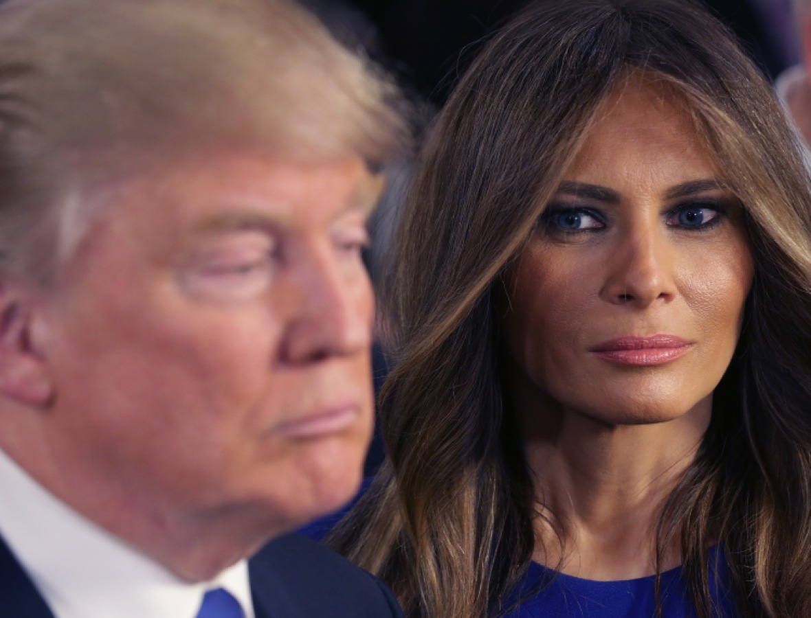 donald trump melania trump getty images