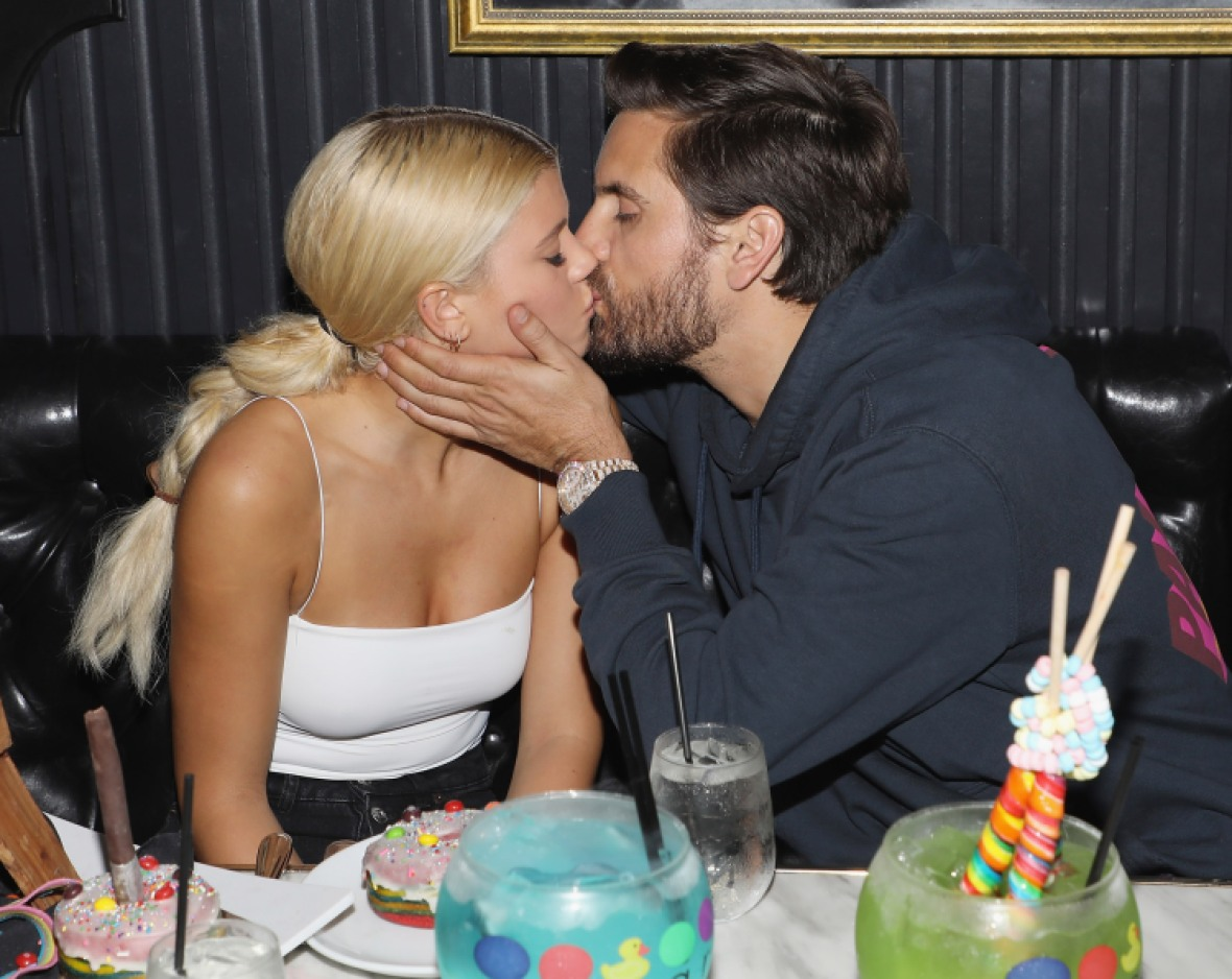 scott disick sofia richie getty images
