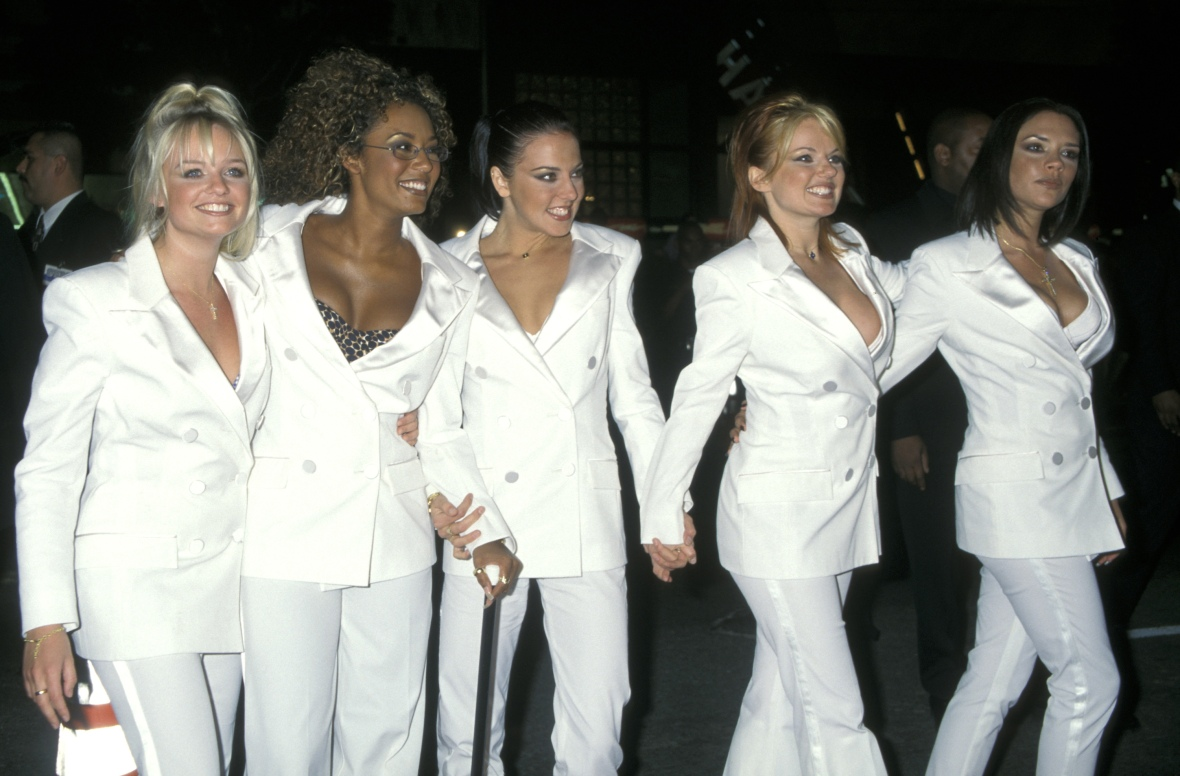 spice world premiere - getty