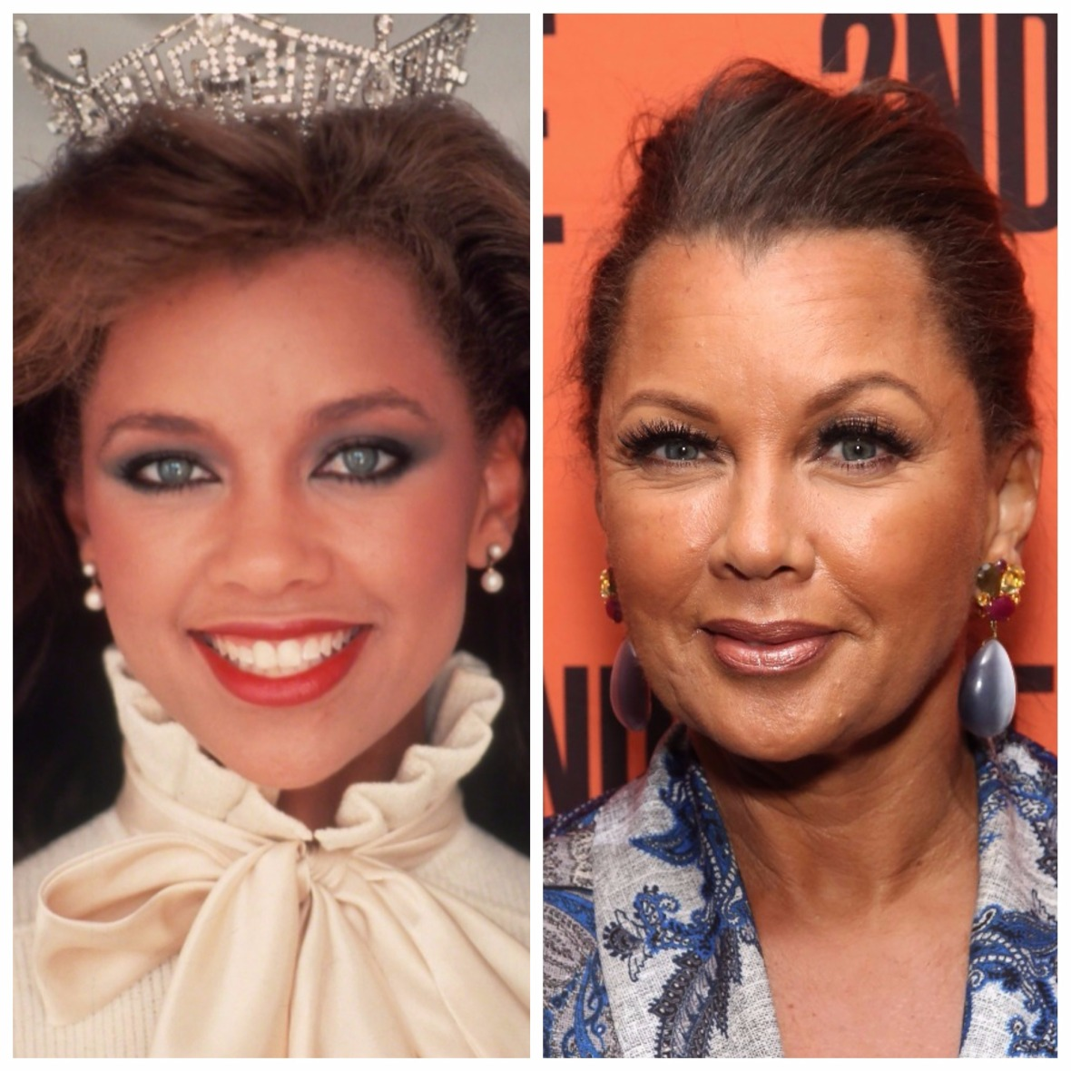 vanessa williams then and now getty