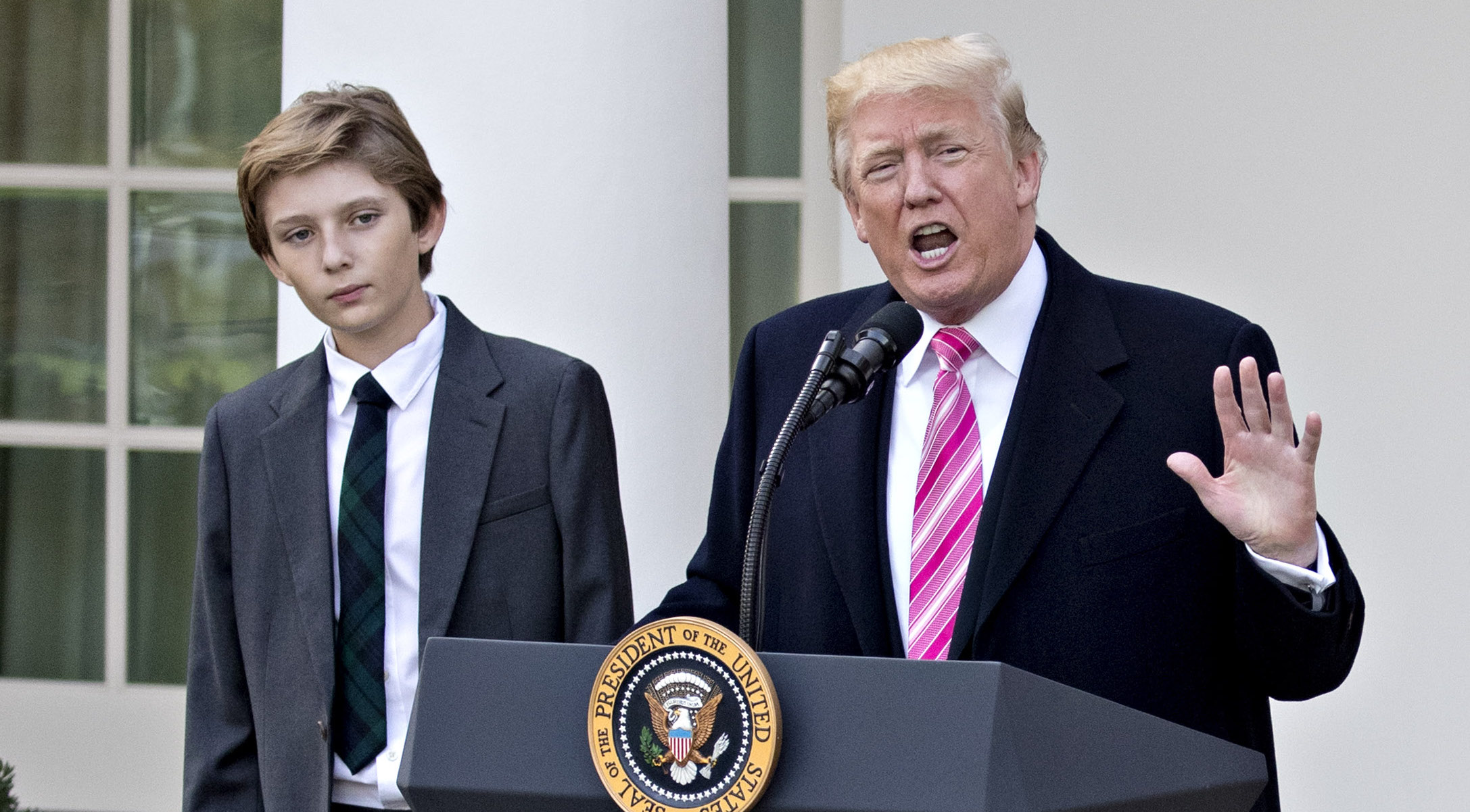 Barron Trump Facts Get To Know Donald And Melania S Young Son