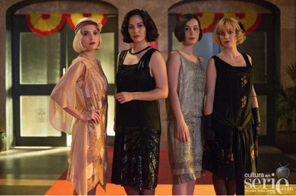 cable girls instagram/netflix