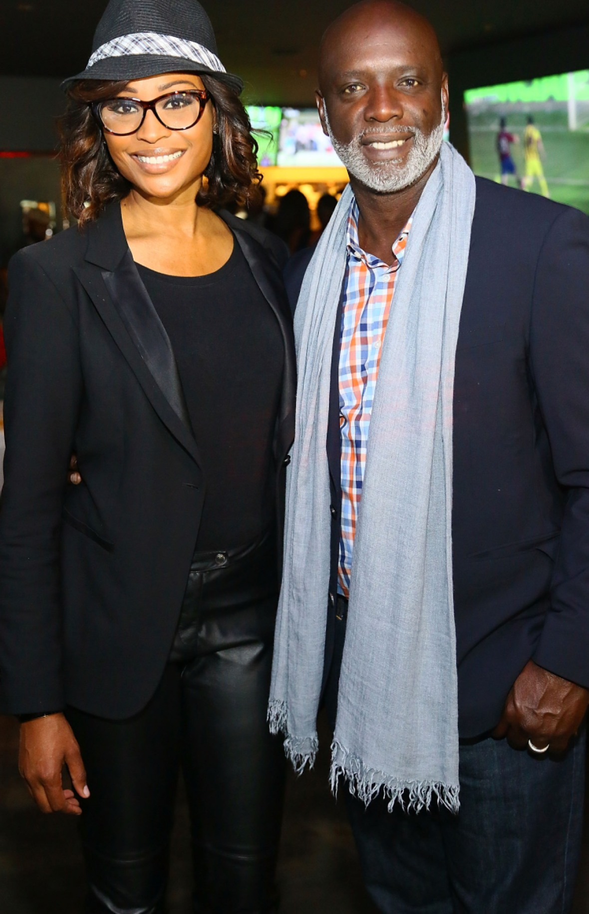 cynthia bailey peter thomas - getty