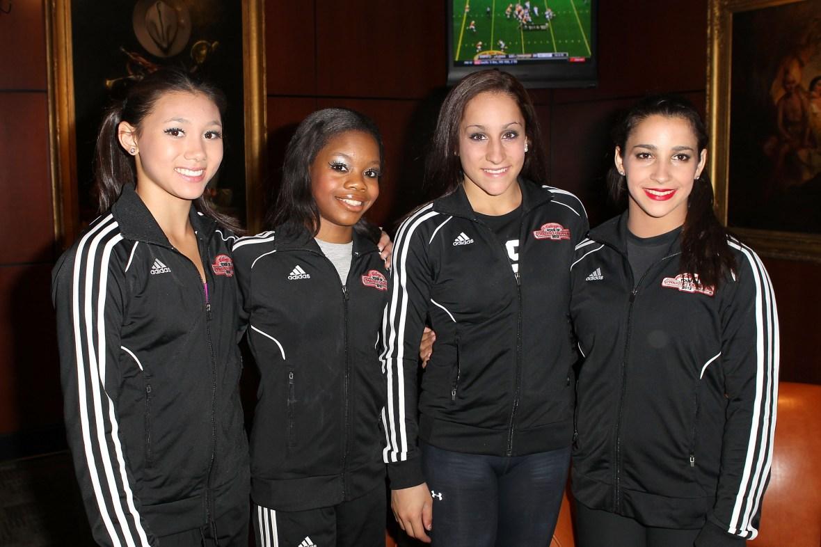 gymnastics team getty