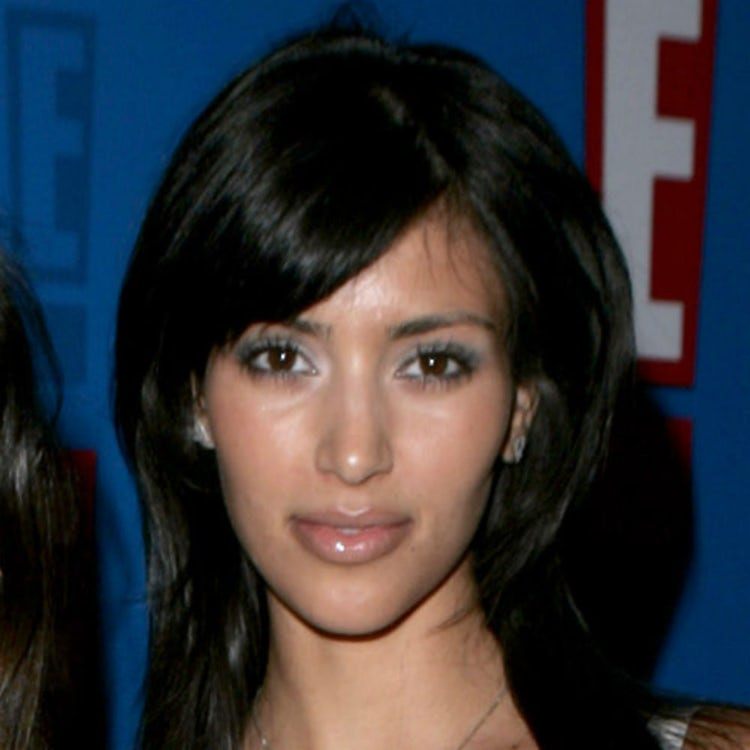 kim kardashian face 2005