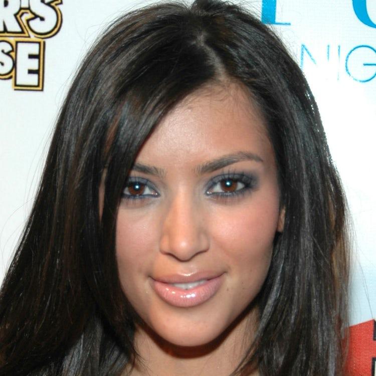 kim kardashian face 2006
