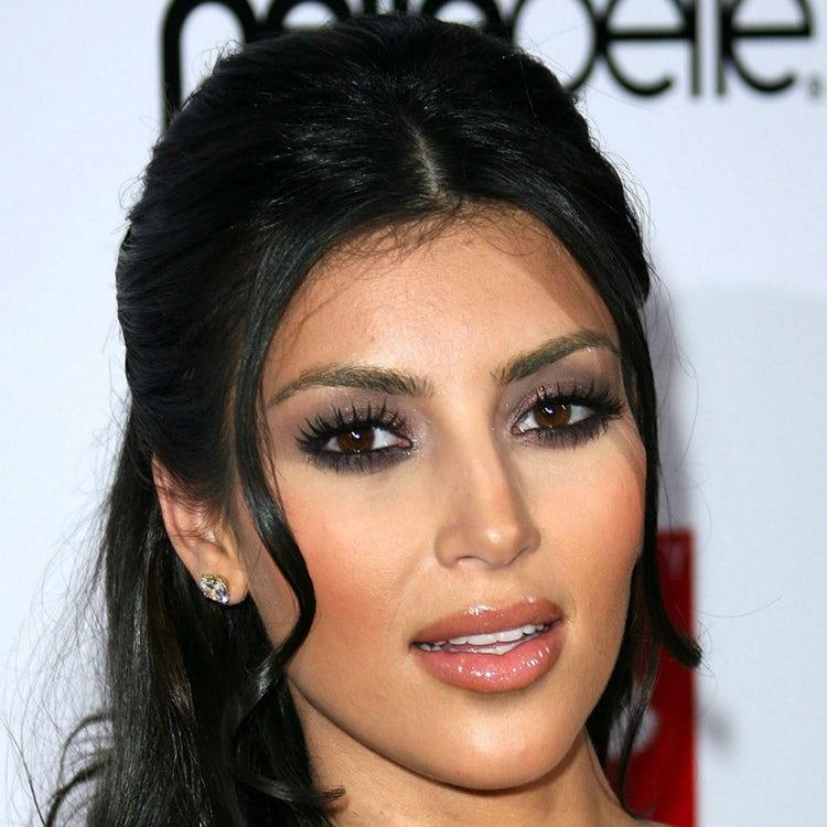 kim kardashian face 2007