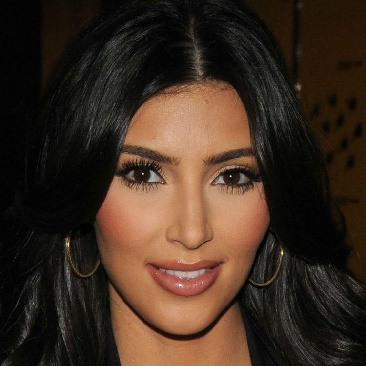 kim kardashian face 2008