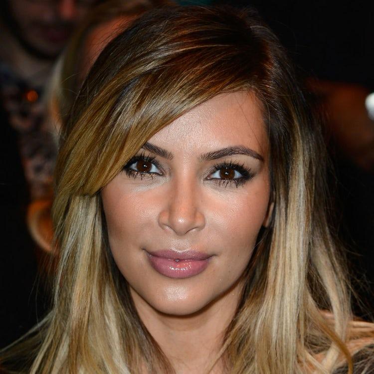 kim kardashian face 2013