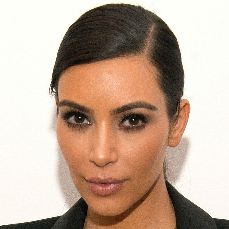 kim kardashian face 2014