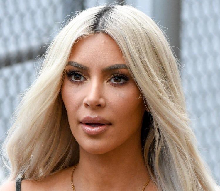 kim kardashian face 2017