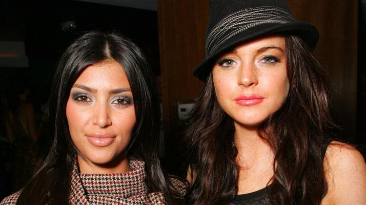 kim-kardashian-lindsay-lohan