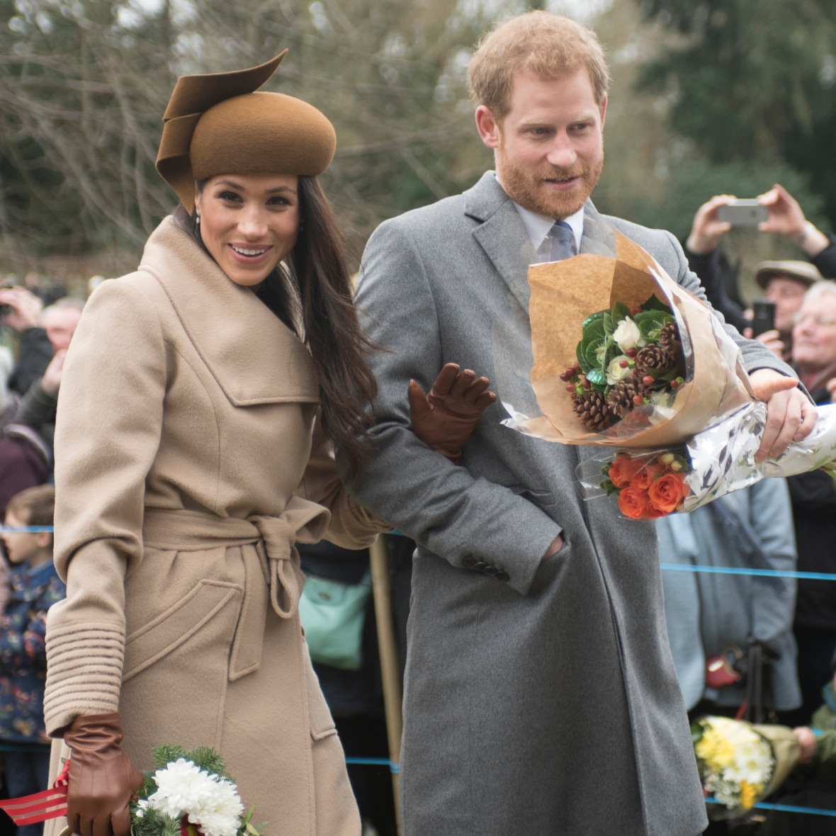 Meghan Markle's Mom Walking Her Down The Aisle In Wedding
